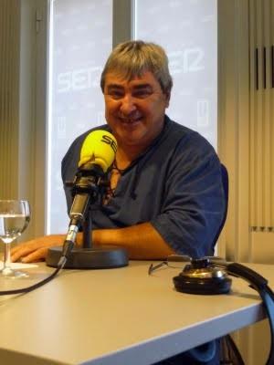 """Pedro Fuste: un periodista """"discapacitado"""", solidario y enamorado de África"""