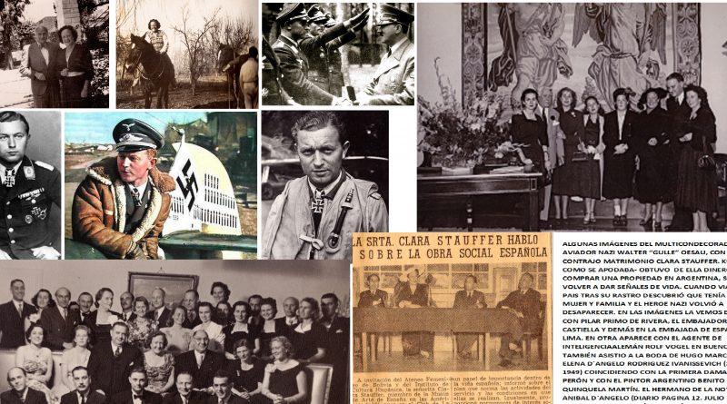 Clara Stauffer. La espía falangista engañada y despechada por el píloto nazi Walter Oesau